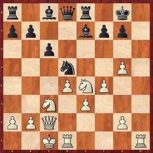 Gulko-Van der Sterren Amsterdam 1988 Move 16 Black to play