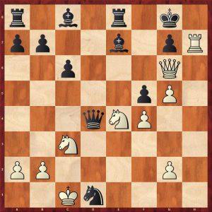 Gulko-Van der Sterren Amsterdam 1988 Move 22 White to play