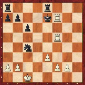 Gulko-van der Sterren Move 9 Variation 2 Move 25 White to play