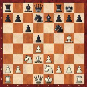 Gulko-van der Sterren Move 9 White to play