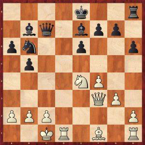 Ivanchuk-Kramnik Dos Hermanas 1996 Move 19