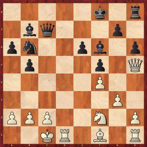 Ivanchuk-Kramnik Dos Hermanas 1996 Move 22