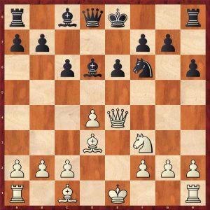 Kamsky-Karpov Dortmund 1993 Move 10