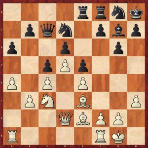 Karpov-Spassky Leningrad 1974 Move 17 White to play
