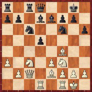 Karpov-Spassky Montreal 1979 Move 10 Black to move
