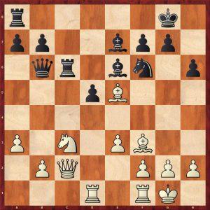 Karpov-Spassky Montreal 1979 Move 19 Black to move