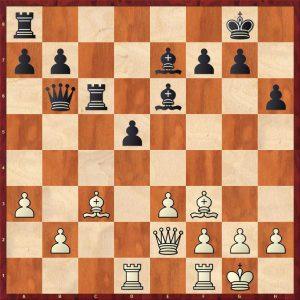 Karpov-Spassky Montreal 1979 Move 21 Black to move