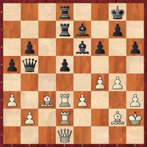 Karpov-Spassky Montreal 1979 Variation Move 33 Black to move