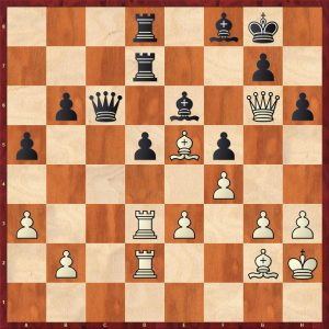 Karpov-Spassky-Montreal-1979-Variation-Move-33-Black-to-move.jpg 25 July 2021 117 KB 852 by 852 pixels Edit Image Delete permanently Alt Text Describe the purpose of the image(opens in a new tab). Leave empty if the image is purely decorative.Title Karpov-Spassky Montreal 1979 Variation Move 33 Black to move Caption Description File URL: http://britishchessnews.com/wp-content/uploads/2021/07/Karpov-Spassky-Montreal-1979-Variation-Move-33-Black-to-move.jpg Copy URL to clipboard ATTACHMENT DISPLAY SETTINGS Alignment None Link To None Size Medium – 300 × 300 Selected media actions 1 item selected Clear Insert into post