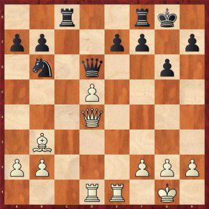 Kasparov-Kasimdzhanov Bastia 2007 Move 17 Black to move