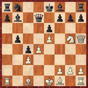 Kasparov-Petursson Valetta 1980 Move 12