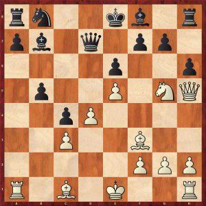 Kasparov-Petursson Valetta 1980 Move 13