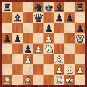 Kasparov-Petursson Valetta 1980 Move 15