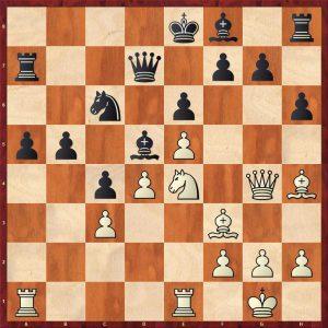 Kasparov-Petursson Valetta 1980 Move 19