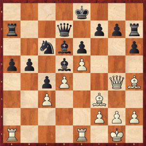 Kasparov-Petursson Valetta 1980 Move 21
