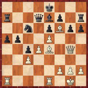 Kasparov-Petursson Valetta 1980 Move 23