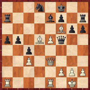 Kasparov-Petursson Valetta 1980 Move 27