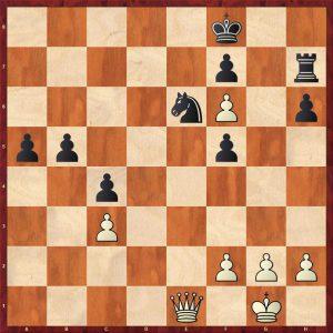 Kasparov-Petursson Valetta 1980 Move 33