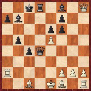Kasparov-Petursson Valetta 1980 Variation 2 Move 17