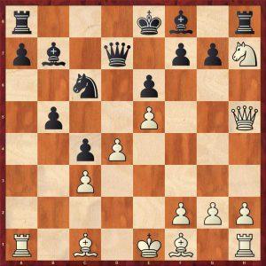 Kasparov-Petursson Valetta 1980 Variation Move 13