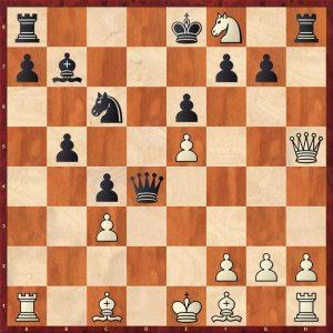 Kasparov-Petursson Valetta 1980 Variation Move 14