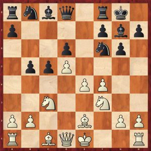Keres-Spassky Candidates Riga (10) 1965 Move 10