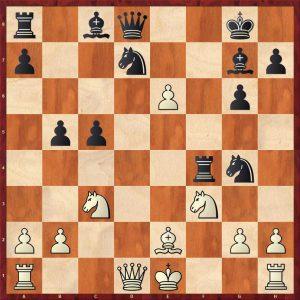 Keres-Spassky Candidates Riga (10) 1965 Move 15