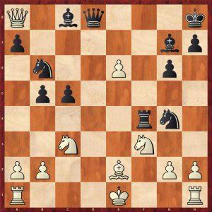Keres-Spassky Candidates Riga (10) 1965 Move 17