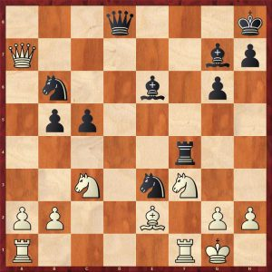 Keres-Spassky Candidates Riga (10) 1965 Move 19