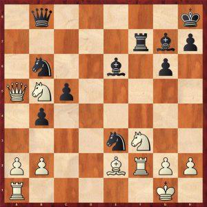 Keres-Spassky Candidates Riga (10) 1965 Move 22