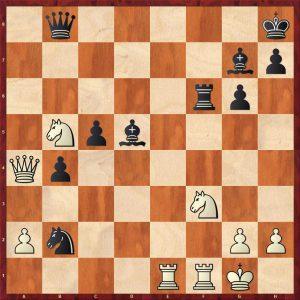 Keres-Spassky Candidates Riga (10) 1965 Move 27