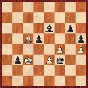 Kotov-Botvinnik Moscow 1955 Move 59 Black To Move
