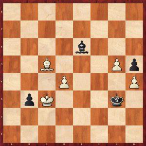 Kotov-Botvinnik Moscow 1955 Move 62