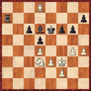 Kotov-Pachman Venice 1950 Move 51 White to play