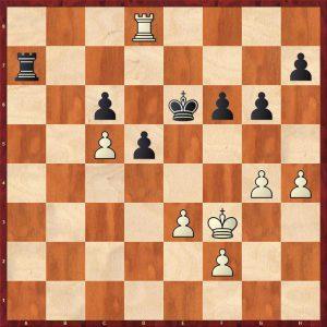 Kotov-Pachman Venice 1950 Move 55 Black to play