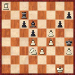 Kotov-Pachman Venice 1950 Variation 1 Move 46 Black to play
