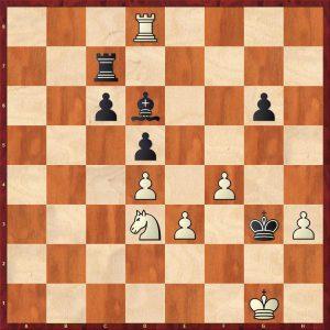 Kotov-Pachman Venice 1950 Variation 1 Move 48 Black to play
