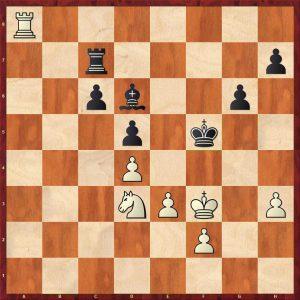 Kotov-Pachman Venice 1950 Variation 2 Move 49 White to play