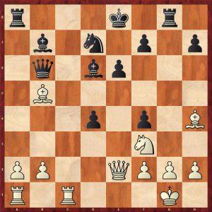 Kramnik-Anand World Ch Game 5 Bonn 2008 Move 19
