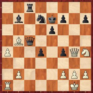 Kramnik-Anand World Ch Game 5 Bonn 2008 Variation Move 33