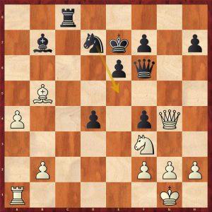 Kramnik-Anand World Ch Game 5 Bonn 2008 Move 27