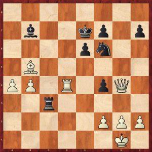 Kramnik-Anand World Ch Game 5 Bonn 2008 Move 31