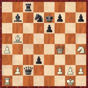Kramnik-Anand World Ch Game 5 Bonn 2008 Variation 2 Move 27