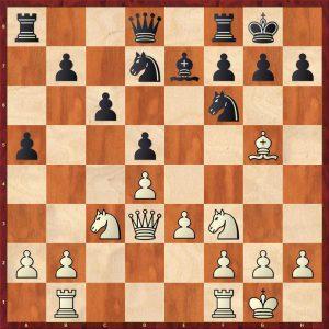 Nikolic-Kramnik Monte Carlo 1998 Move 12 White to move