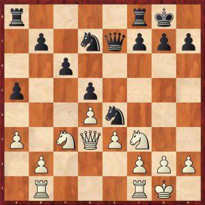 Nikolic-Kramnik Monte Carlo 1998 Move 14 White to move