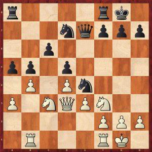 Nikolic-Kramnik Monte Carlo 1998 Move 15 White to move