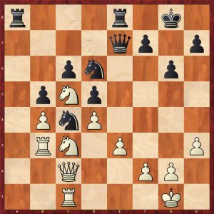 Nikolic-Kramnik Monte Carlo 1998 Move 22 Black to move