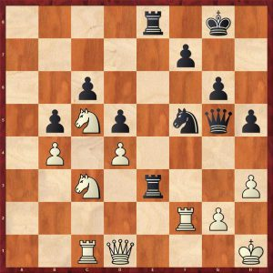 Nikolic-Kramnik Monte Carlo 1998 Move 29 Black to move