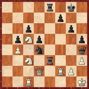 Nikolic-Kramnik Monte Carlo 1998 Move 31 White to move