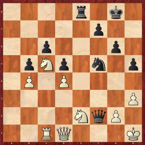 Nikolic-Kramnik Monte Carlo 1998 Variation 1 Move 32 White to move